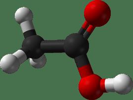 فرمول شیمیایی اسید استیک