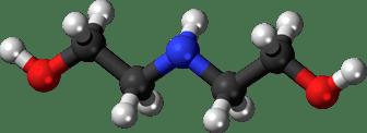 فرمول شیمیایی دی اتانول امین