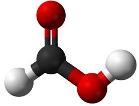 فرمول شیمیایی اسید فرمیک