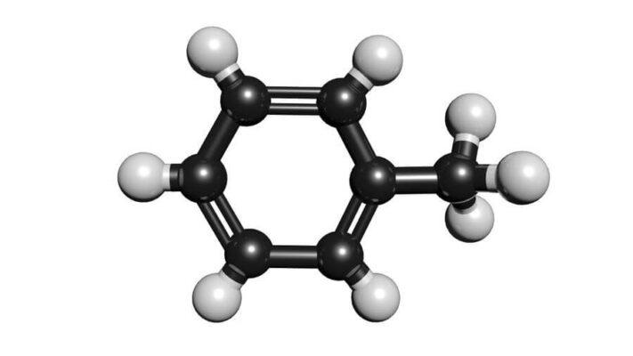 فرمول شیمیایی تولوئن