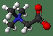 فرمول شیمیایی بتائین