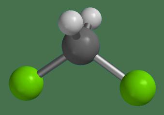 شکل مولکولی متیلن کلراید