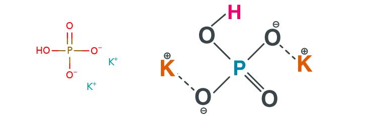 فرمول شیمیایی دی پتاسیم فسفات