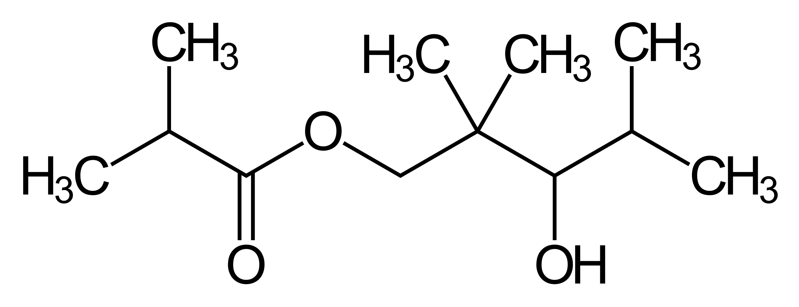 فرمول شیمیایی تگزانول
